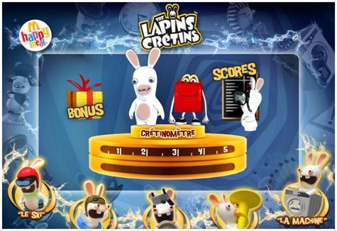 Lapins Crétins Mac Donald's