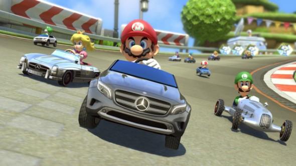 Mario kart 8 / Mercedes
